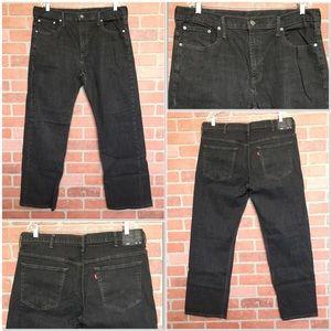 Levis 569 Mens jeans black 38 X 32 (3H56)